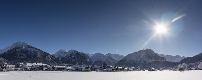 Winter-Wonderland Oberstdorf